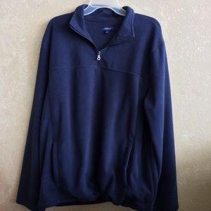 Men's large blue fleece Croft& Barrow jacket